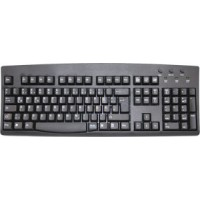 German Keyboard - Black USB