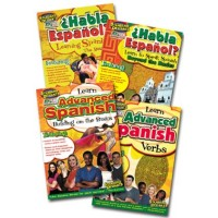 Standard Deviants Spanish DVD 4-pack