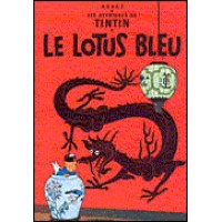 Le Lotus Bleu (French Edition) (Hardcover) Vol. 5
