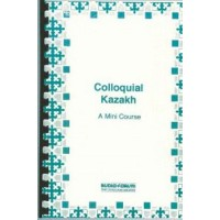 Colloquial Kazakh CDs with text & reference cards