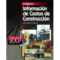 Means Building Construction Cost Data 2007 Book Spanish Edition, 65th Edition