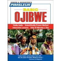 Pimsleur Basic Ojibwe (Audio CDs)