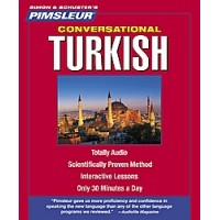 Pimsleur Conversational Turkish (Audio CDs)