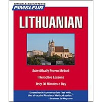 Pimsleur Lithuanian Compact (5 audio CD's / 10 lessons)
