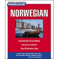 Pimsleur Norwegian Compact (5 audio CD's / 10 lessons)