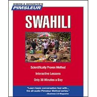Pimsleur Swahili Compact (5 audio CD's / 10 lessons)