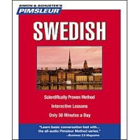 Pimsleur Swedish Compact (5 audio CD's / 10 lessons)