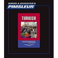 Pimsleur Turkish Comprehensive (16 Audio CD's / 30 Lessons)