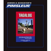 Pimsleur Tagalog Comprehensive (16 Audio CD's / 30 Lessons)