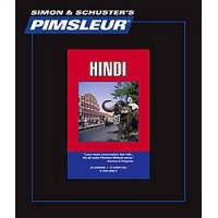 Pimsleur Comprehensive Hindi I (30 lesson) Audio-CD