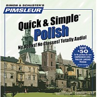 Pimsleur Quick & Simple - Polish (4 Audio CDs)