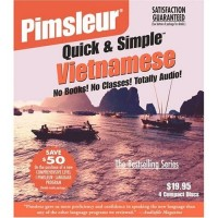 Pimsleur Quick & Simple - Vietnamese (4 Audio CDs)