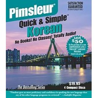 Pimsleur Quick & Simple - Korean (4 Audio CDs)