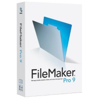 Japanese FileMaker Pro 9 (Mac/Windows)