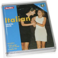 Berlitz Italian Travel Pack (224 page phrase book and audio CDs)
