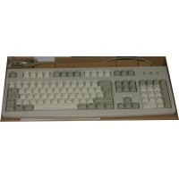 Keyboard for French Canadian and English (Bilingual-Cherry) Ivory AT Connectors