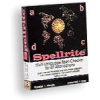 SpellRite for Windows -Eng. Span. French, German, Italian & Portuguese