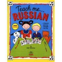 Teach me Russian for Children (Book & Cassette)