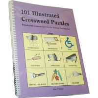 101 Illustrated Crossword Puzzles (Ring-bound)