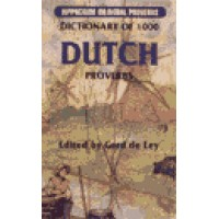 Hippocrene Dutch - Dictionary of 1000 Dutch Proverbs (131 pages)