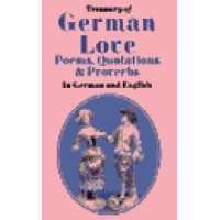 Treasury of German Love: Poems, Quotations & Proverbs : In German and English (Hardcover)