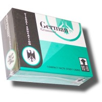 Vocabulary Flashcards (60 cards) German Grammar