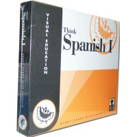 Vocabulary Flashcards (400 cards w/AudioCD) Think Spanish I
