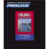 Pimsleur Comprehensive Italian I (30 lesson) Cassette