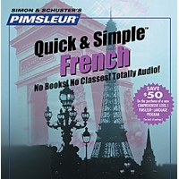 Pimsleur Quick & Simple French 8 lessons (4 Audio CD)