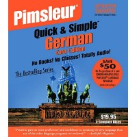 Pimsleur Quick & Simple German 8 lessons (4 Audio CD)