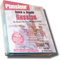 Pimsleur Quick & Simple - Russian 8 lessons (4 Audio CD)
