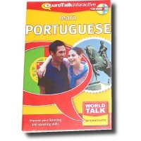 Talk Now Learn Portuguese Intermediate Level II (World Talk)