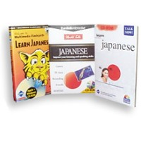 Talk Now I & II Plus Flash Card SUPER BUNDLE -Japanese