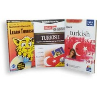 Talk Now I & II Plus Flash Card SUPER BUNDLE -Turkish