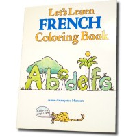 Let's Learn French Coloring Books (Book only)