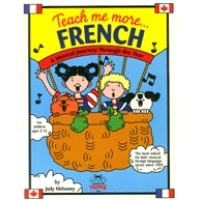 Teach me more French for Children (Book & CD): A Musical Journey Through the Year