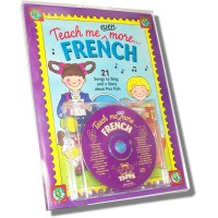Teach me even more French for Children (Book & CD): 21 Songs to Sing and a Story about Pen Pals