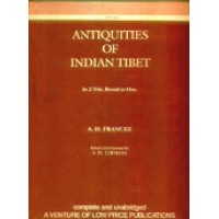 Antiquities of Indian Tibet in 2 Vol.'s Bound in One (Hardcover)
