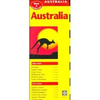 Australia Travel Map, Second Edition (Map)
