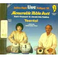 Zakir Hussain & Alla Rakha - Memorable Tabla Duet (MUSIC CD)