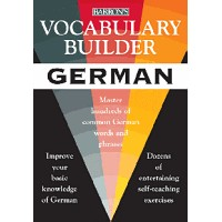 Vocabulary Builder German: Master Hundreds of Common German Words and Phrases (Paperback)