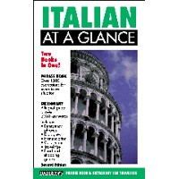 Italian At a Glance (At a Glance Series) (Paperback)