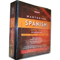 Barrons - Mastering Spanish Level I (Book & AudioTapes)