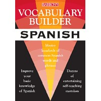Barrons - Vocabulary Builder Spanish (PB)