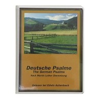 German Psalms, Luther Version (5 Cassettes)
