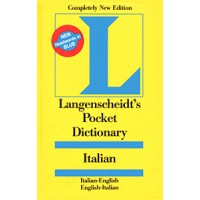 Langenscheidt Pocket Dictionary Italian (Italian-English / English-Italian)