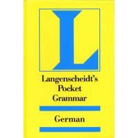 Langenscheidt German - Pocket German Grammar