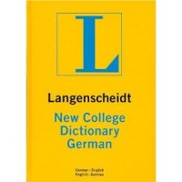 Langenscheidt: New College German Dictionary (German-English / English-German) (Hardcover)