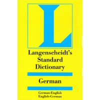 Langenscheidt - Standard German to and from English Dictionary