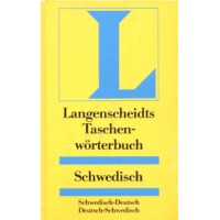 Langenscheidt - Taschenworterbuch Schwedisch (Swedish) to and from German Dictictionary